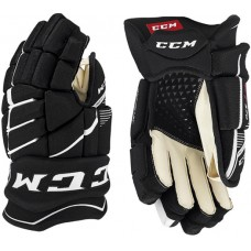 CCM Jetspeed FT370 Hockey Gloves - Black