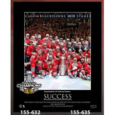 Chicago Blackhawks 2015 Stanley Cup Champions Plaque