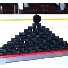 Official Ice Hockey Pucks - (12 Pack)