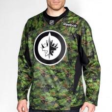Winnipeg Jets Reebok Premier Youth CAMO Replica Jersey