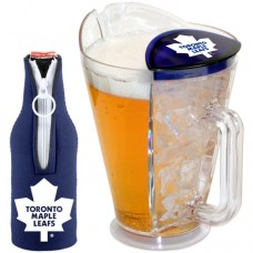 Toronto Maple Leafs Ice Back Pitcher with Bottle Cozy