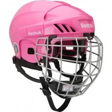 Reebok 3k PINK Hockey Helmet Combo