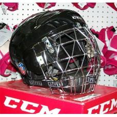 CCM/Otny Black Ringette Helmet Combo