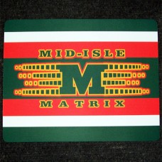 Mid-Isle Matrix Skate Mat