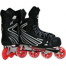 Tron S20 Sr. Inline Roller Hockey Skates - View Bauer/Mission Comparison