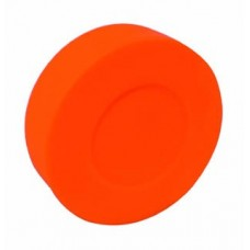 Orange Street Hockey Puck