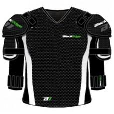 BlackEdge BE33 Hockey Shoulder Pads Padded Under Armor Shirt