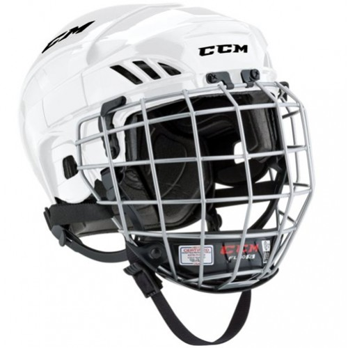 b108e25fdc1 CCM FL40 Hockey Helmet Combo