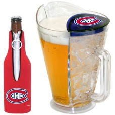 Montreal Canadiens Ice Back Pitcher with Bottle Cozy