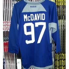 Connor McDavid Edmonton Oilers Youth Team Practice Jersey