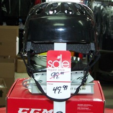 JOFA Reproduced Senior Hockey Helmet - Pro Stock Black