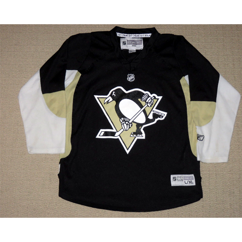 best loved cf28a 04335 Reebok Pittsburgh Penguins Youth Replica Jersey - Home