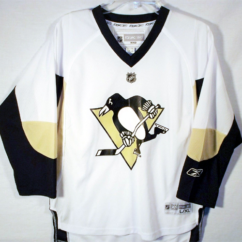 factory authentic 46176 9ea56 Reebok Pittsburgh Penguins Youth Replica Jersey - Away